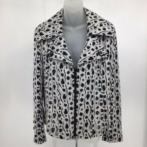 Clara Sun Woo XL Front Zip Large Collared Jacket